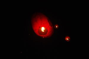 Giant lantern gone, see you next year :)
